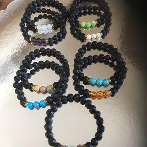 Jewelry - Chakra Aromatherapy Beaded Bracelet